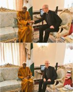 President Muhammadu Buhari Receives Archbishop of Canterbury Today At Abuja House London