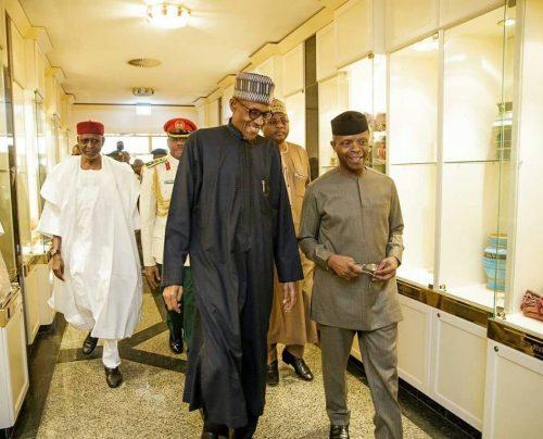 Vice President Yemi Osinbajo To Continue As Acting President -President Buhari