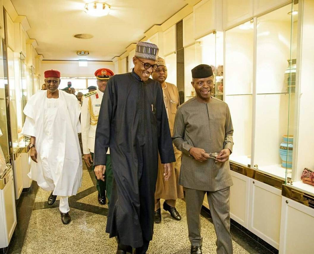 Vice President Yemi Osinbajo To Continue As Acting President -President Buhari