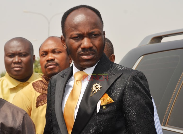 Sex Scandal: Another woman says she was in sexual relationship with Apostle Suleman