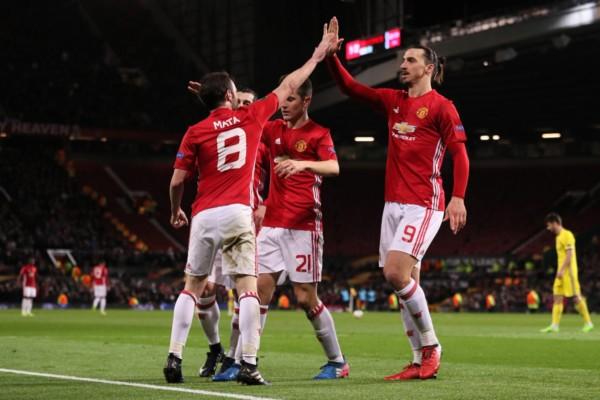 Europa: Mata Saves Mourinho's Hide Again As Man Utd Coasts Through To Quarterfinal