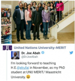 El Rufai Returns To School In Netherlands For PhD [Photos]
