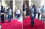 #BBNaija: Kemen Arrives Akwa Ibom In Princely Fashion