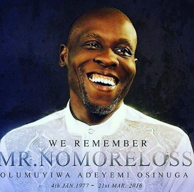 R.I.P Nomoreloss: Celebrities Pay Glowing Tributes To Late Singer One Year After Death