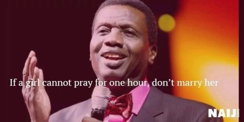 Pst. Adeboye @75: Unforgettable & Controversial  Statements Made By RCCG Pastor Over The Years