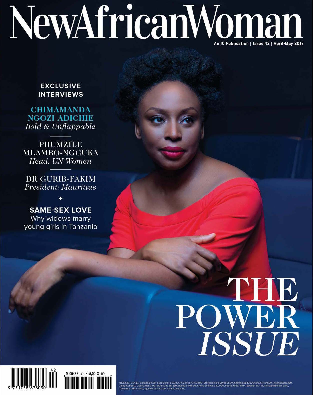 Chimamanda Adichie Graces Cover Of New African Women's Power Issue