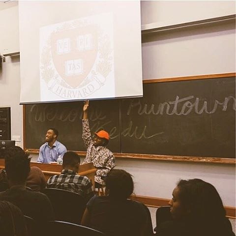 Music Star, Runtown Delivers Lecture On 'Emergence Of African Music' At Harvard University