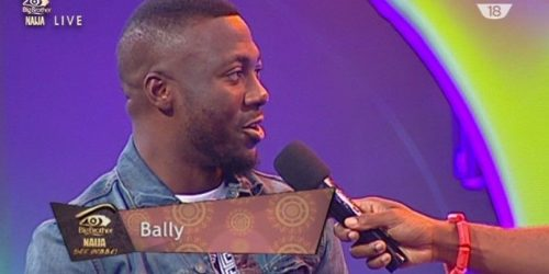 #BBNaija: Bally Evicted From Big Brother House