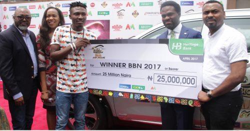 #BBNaija: Heritage Bank, DSTV Present N25m, SUV Automobile Grand Prize To Winner