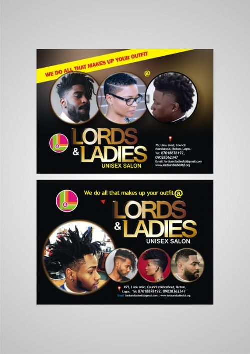 Lords & Ladies Launches Unisex Salon, Modelling Agency, Calls For Auditioning
