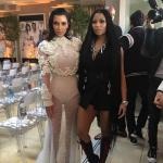 Nicki Minaj and Kim Kardashian Hang Out Together At The Fashion Awards In Los Angeles