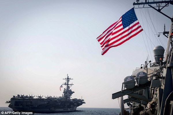 North Korea Threatens To Sink US Navy Carrier, Trump Orders Retaliatory Response If Need Be