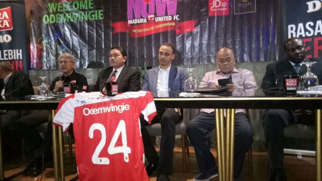 Osaze Odewingie Seals Move To Indonesian Club [Photos]