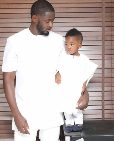 Check Out Adorable Photo Of Tiwa Savage's Estranged Hubby, Teebillz and Their Son