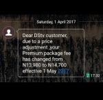 Nigerians React As DSTV Announces Hike In Subscription Fees