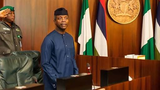 Osinbajo Interrogates Suspended NIA DG Behind Closed Doors, What Went Down At The Meeting