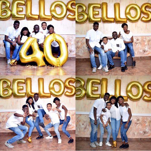 Actress Funke Akindele Bello's Husband Shares Beautiful Family Photos As He Turns 40