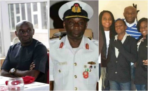 Photos of the Naval Admiral who allegedly shot himself in Lagos