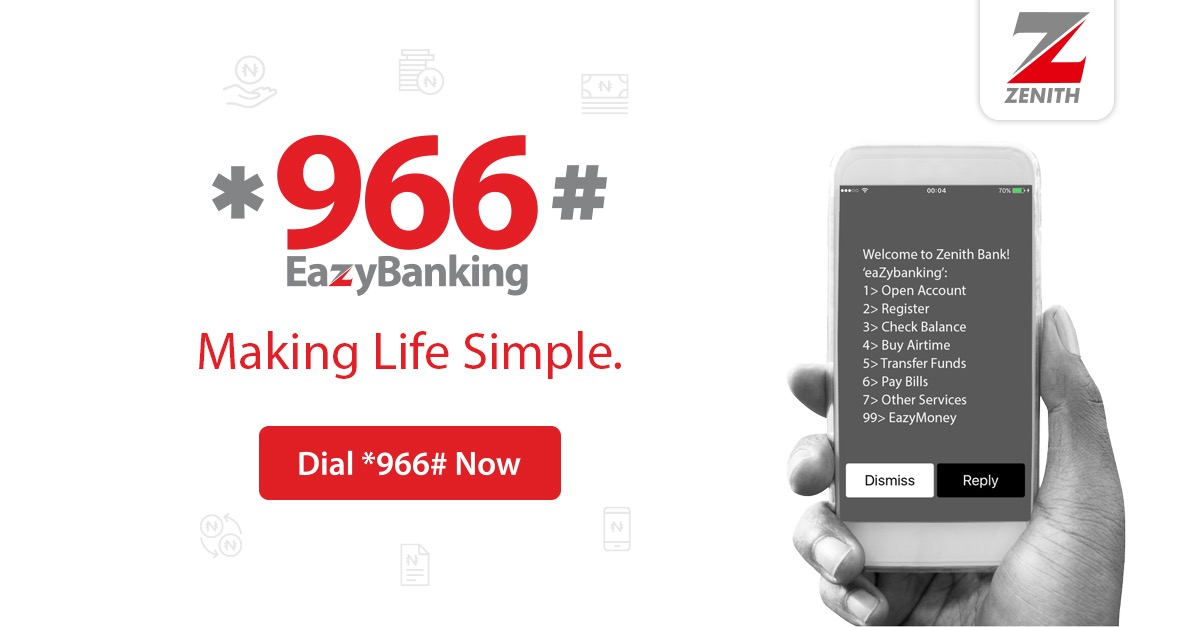 Zenith bank to reward 966 eazy banking customerswith for Delano promo code