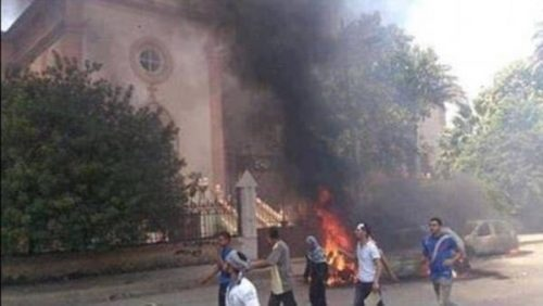22 Dead As Bomb Blast Rocks Coptic Church In Tanta, Egypt On Palm Sunday