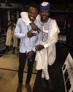 #BBNaija Winner Efe Pictured With Howr Ebuka Yesterday