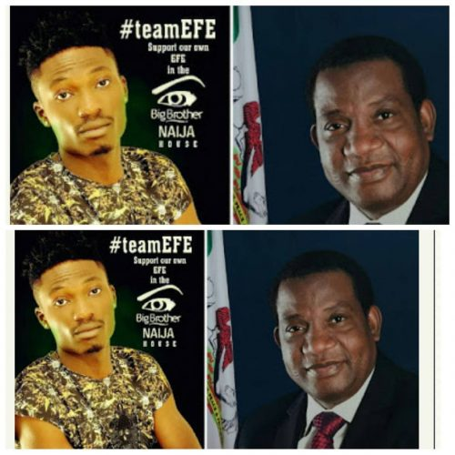 Efe Appointed As Ambassador Of  State For Entertainment By  Plateau State Govt