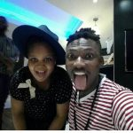 Too Cute! Efe Pictured With Bisola's Daughter