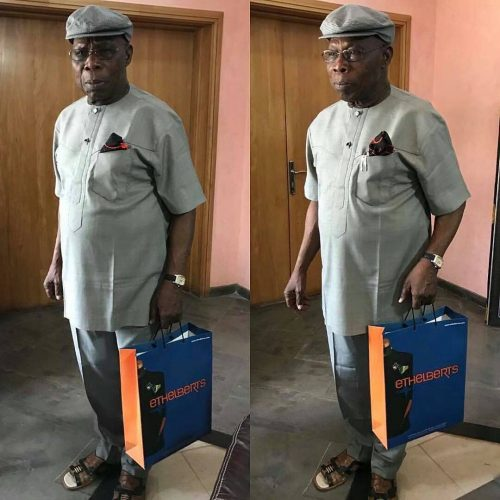 80 Year Old Obasanjo Looking Dapper In New Photos