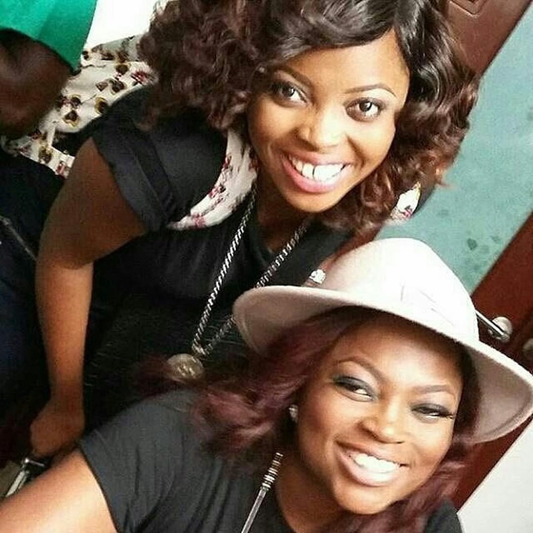 Actress Juliana Olayode Denies Falling Out With Funke Akindele