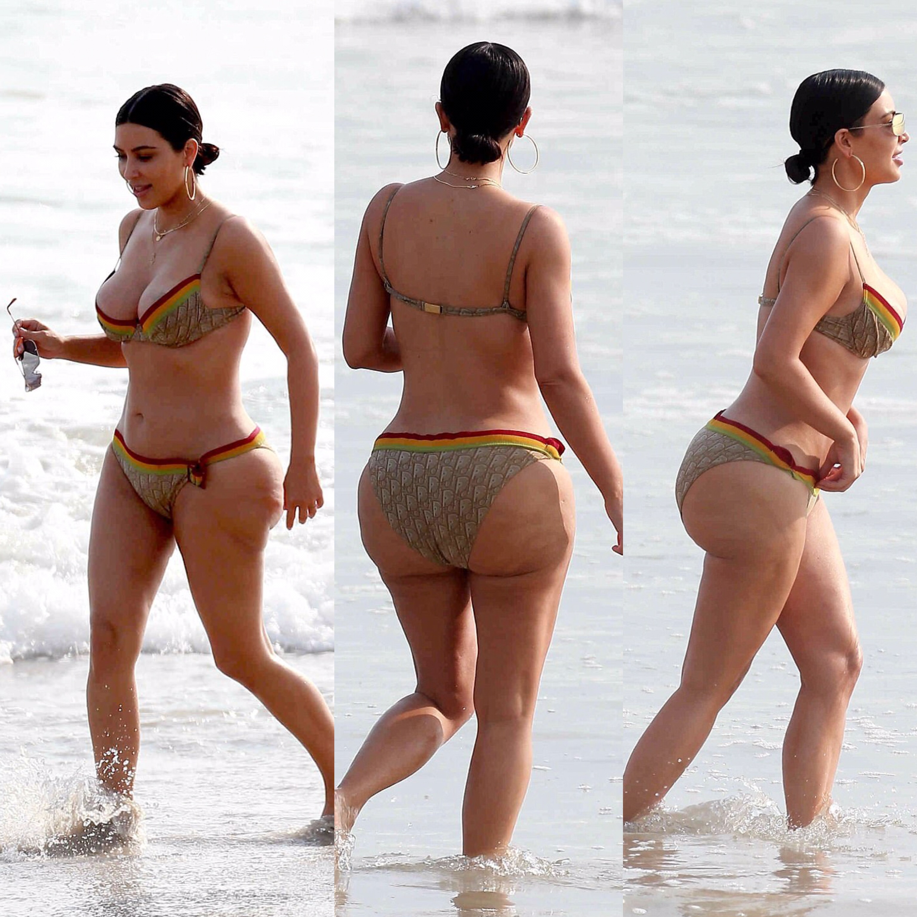 Sexy Or Nah? Kim Kardashian Outs Unairbrushed Curves On Display In Mexico