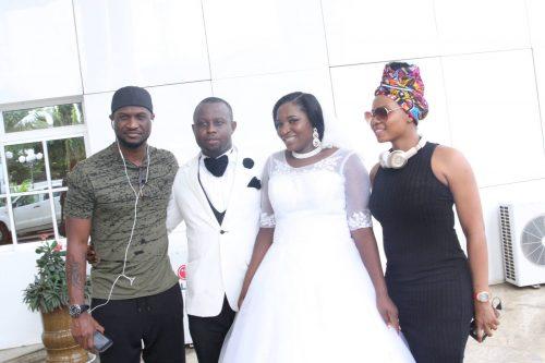 Couple Receives Pleasant Surprise As PSquare, Yemi Alade, Phyno Crash Their Wedding