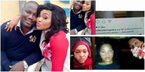 Mercy Aigbe Pictured Undergoing CT Scan After She Allegedly Suffered Fractured Skull As A Result Of Husband's Battering (photos)