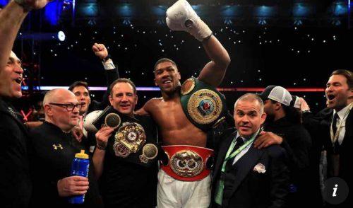 Breaking: Joshua Defeats Klitschko In World Heavyweight Title Fight