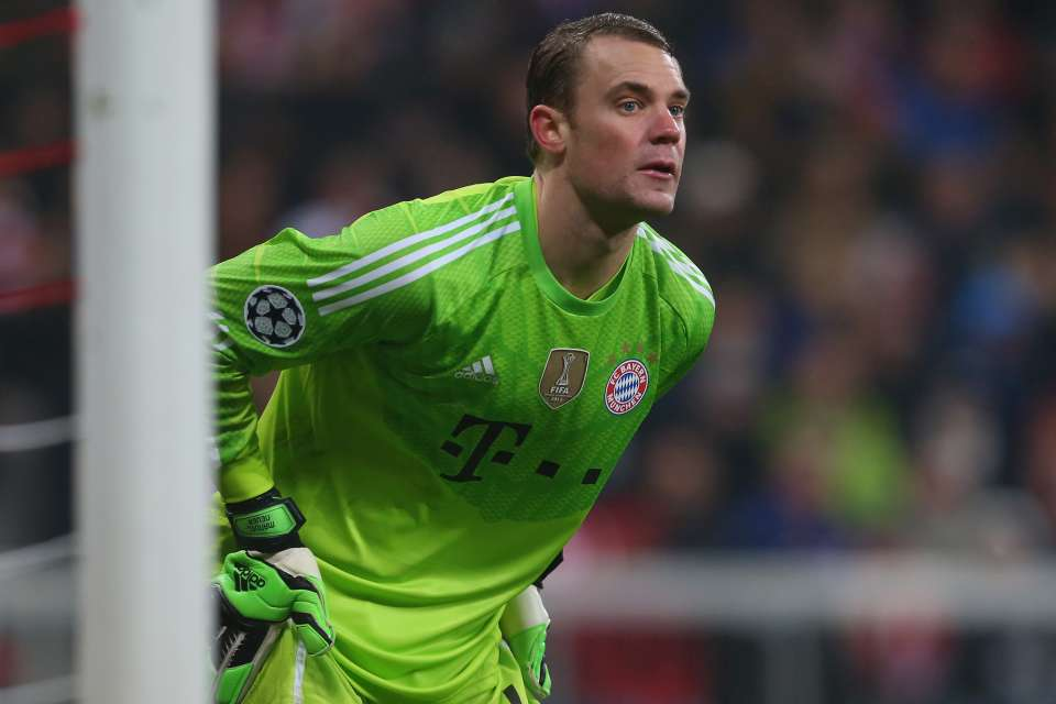 SPORTS: Neuer Out For The Rest Of The Season Due To Broken Foot