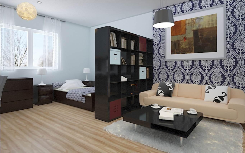 Amazing interior design ideas for single room apartments for Amazing interior decoration