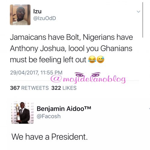 Just Look At How This Ghanaian Roasted Nigerians On Twitter