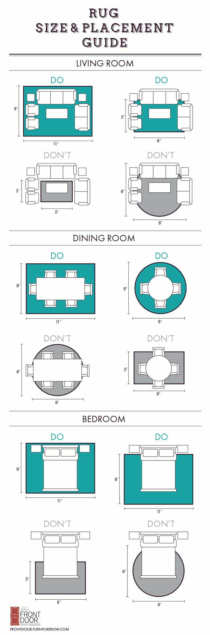 Amazing Interior Design Ideas: How To Place your Carpets And Rugs At Home