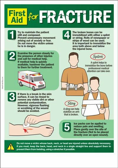 FIRST AID: Arm Fracture Treatment