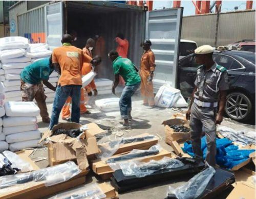 Customs Intercept Container Holding 440 Guns Imported From Turkey