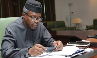 Vice President Osinbajo Will Sign The 2017 Budget – PRESIDENCY