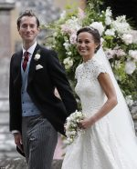 Duchess Of Cambridge Kate Middleton  Sister Pippa Marries Financier James Mathews In Colorful Ceremony
