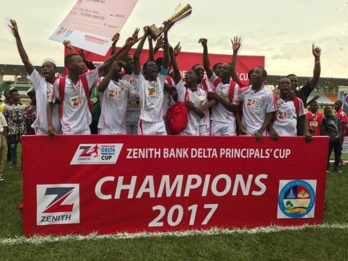 Stars Light Up Zenith Bank Delta Principals' Cup Final