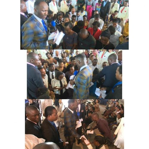 Apostle Suleman Blesses Corps Members s With N2 Million