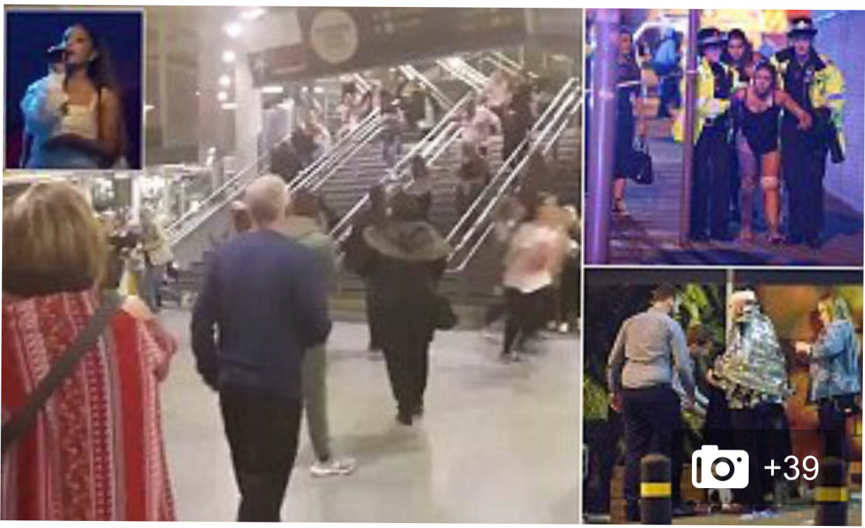Nineteen People Confirmed Dead  and 50 injured In Manchester Arena 'Terrorist Attack'