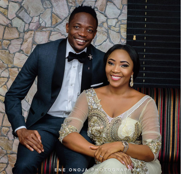 One Month After Divorcing Ex-Wife Super Eagles Forward Ahmed Musa Marries Juliet Ejue