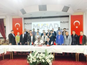 Motherland Beckons In Partnership With Turkey MUSIAD Foster Economic Off-shoot, Launches Diaspora Nigeria Economic Recovery & Growth Plan—DNERGP