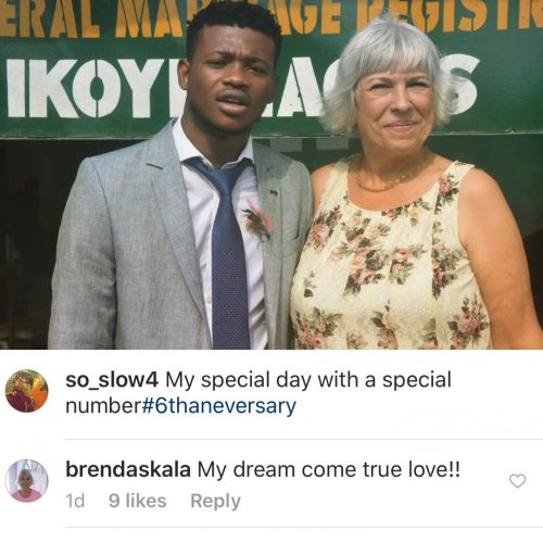 Nigerian Guy Celebrates 6th Wedding Anniversary With His  Older Caucasian Wife, Nigerians React