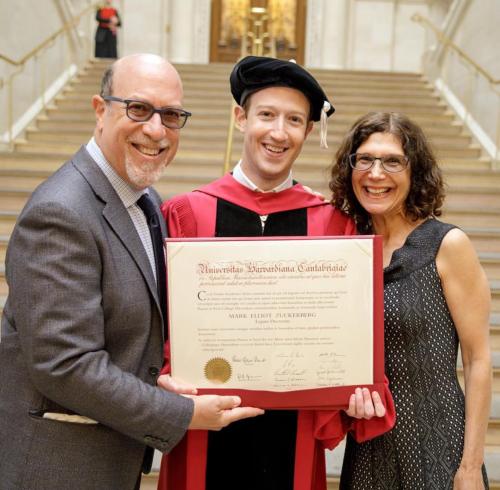 Facebook Founder Mark Zuckerberg Finally Gets His Harvard Degree