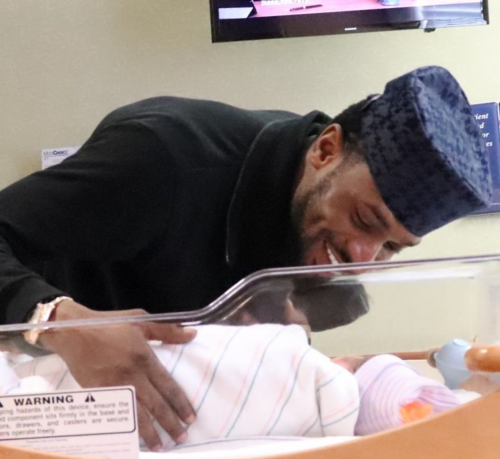 Photo: Dbanj And His Son Celebrate Children's Day