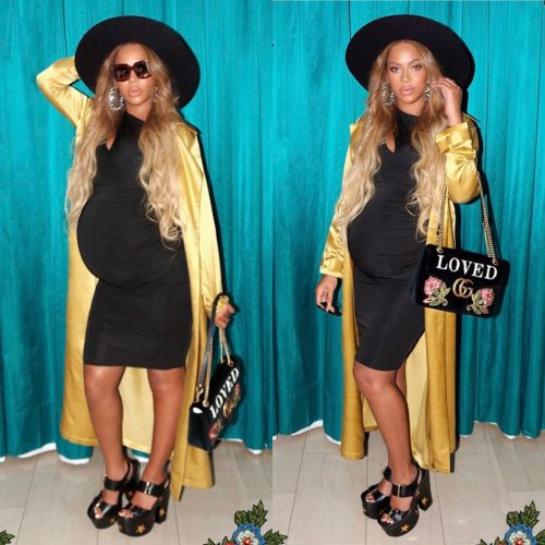Heavily Pregnant Beyonce Stuns In New Photos